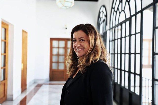 La diputada de Ciudadanos (Cs) por Sevilla en el Parlamento de Andalucía, Mar Hormigo. Imagen de archivo.
