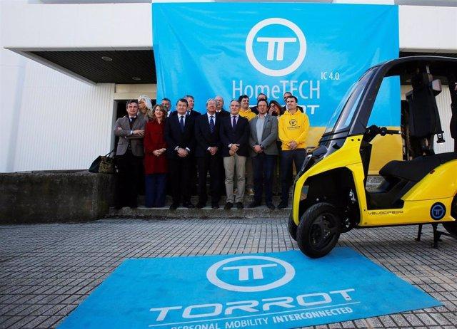 Torrot presenta en Cádiz su HomeTECH