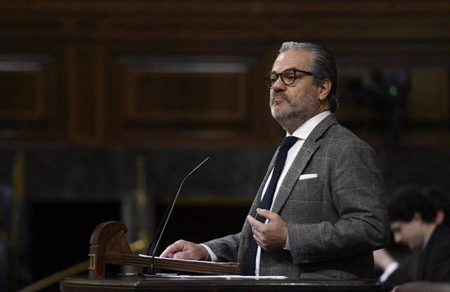 El diputado de Ciudadanos, Marcos de Quinto.