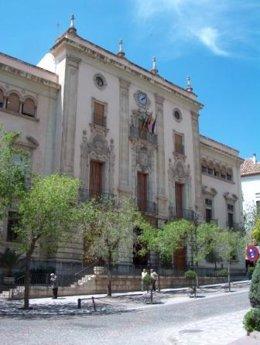 Fachada del Ayuntamiento de Jaén/Archivo