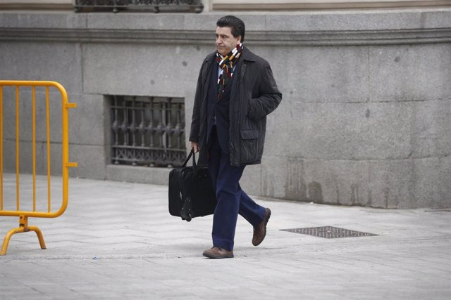 El empresario David Marjaliza en la Audiencia Nacional