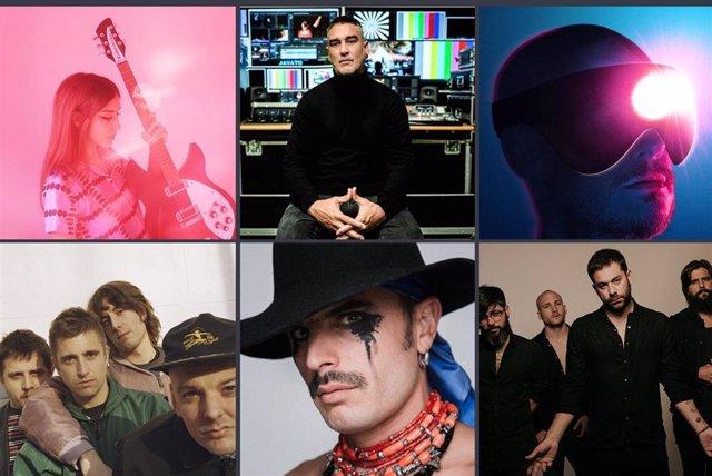 Rodrigo Cuevas, Kase.O y Viva Suecia, favoritos en los Premios MIN de la Música