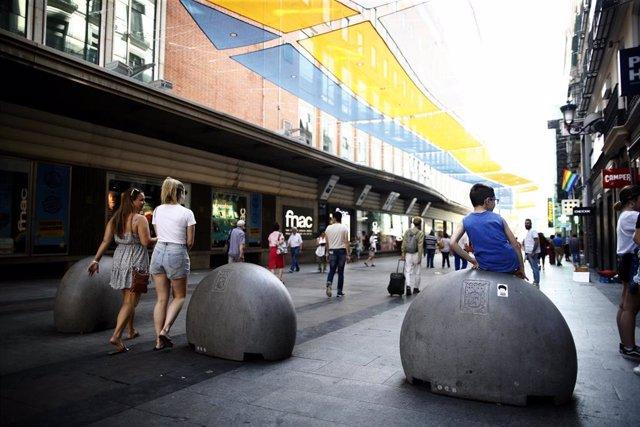 Tienda Fnac en la calle Preciados de Madrid