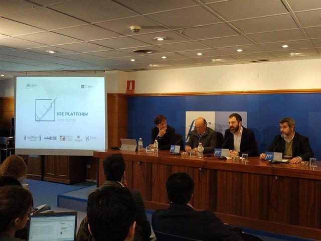 Presentación de la primera plataforma integrada de datos para el sector vitivinícola en La Rioja