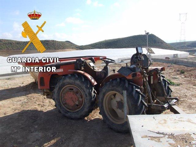 Dos detenidos tras un accidente laboral en Lucainena de las Torres