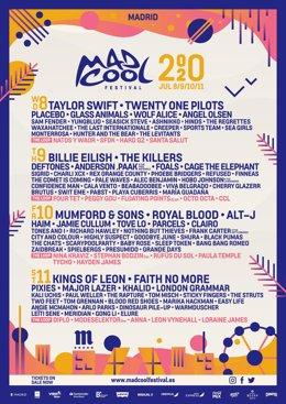 Mumford & Sons y Royal Blood se suman al Mad Cool 2020 como cabezas de cartel