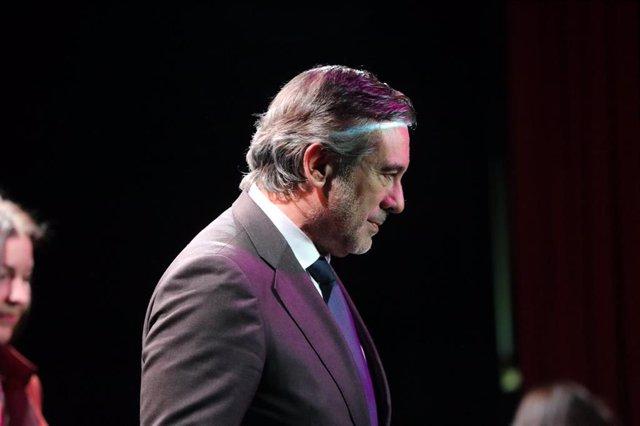 El secretario del PP en Justicia e Interior y consejero de Justicia, Interior y Víctimas de la Comunidad de Madrid, Enrique López