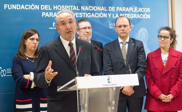 El nuevo gerente de Parapléjicos quiere que el hospital sea polo de atracción para incrementar la investigación en C-LM
