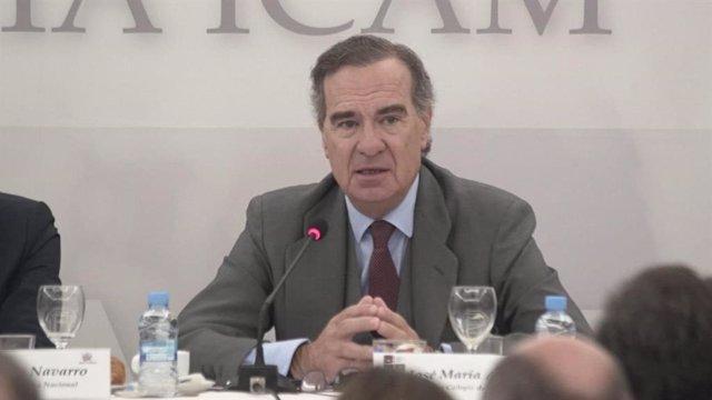 El decano del ICAM, José María Alonso