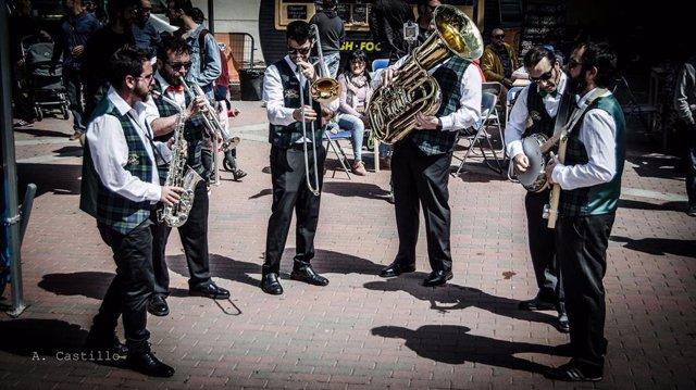 El Murcia Jazz Festival arranca este fin de semana con un pasacalles a cargo de la Dixieland Train Jazz Band