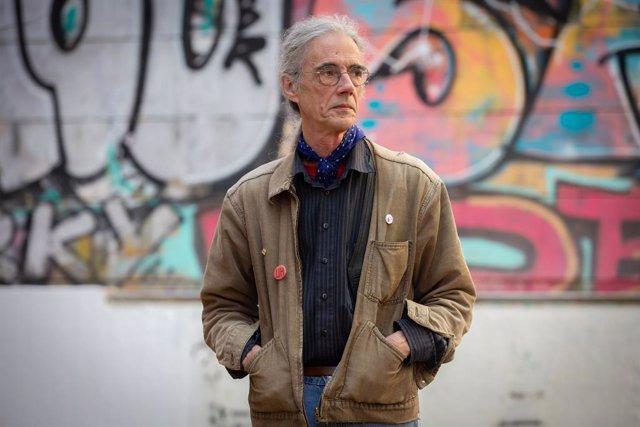 L'escriptor Enric Casasses i Figueres a Barcelona després d'anunciar-se que ha guanyat el 52è Premi d'Honor de les Lletres Catalanes.