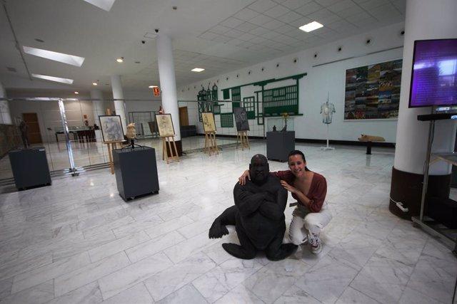 El Aeropuerto César Manrique-Lanzarote exhibe la muestra 'Mutación' de la artista lanzaroteña Cintia Machín