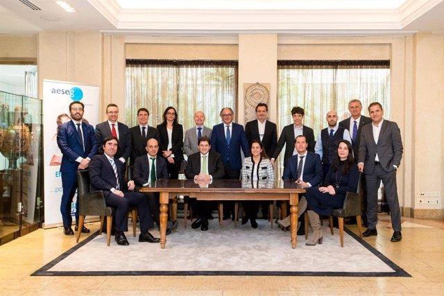 Asamblea General de AESEG integrada por todos los asociados.