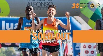 El 30 Medio Maratón Valencia agota los 20.000 dorsales ocho meses antes