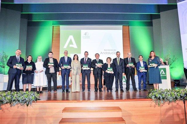 Premiados con las Banderas de Andalucía por la provincia de Jaén