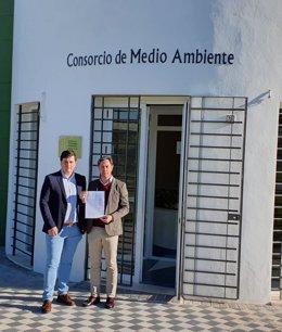 A la derecha de la imagen, Juan Jiménez