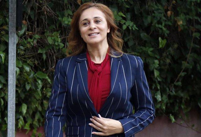 Ana María Aldón, feliz en Supervivientes