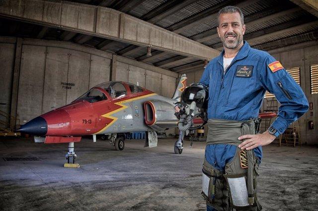 Comandante del Ejército del Aire Eduardo Garvalena