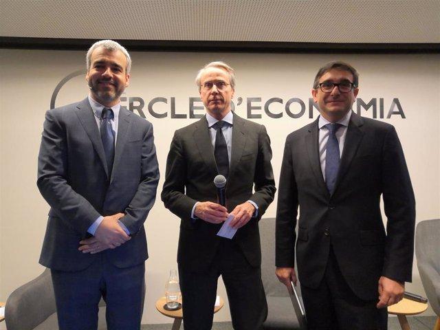 Maurici Lucena, Xavier Faus y Xavier Llinares