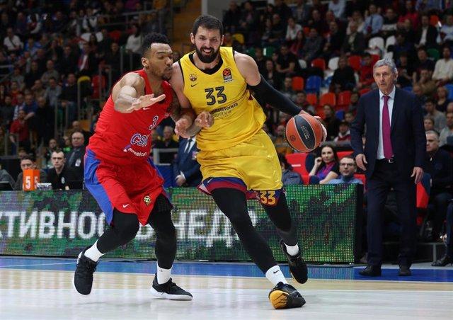 Nikola Mirotic decide la victoria culé en el último suspiro