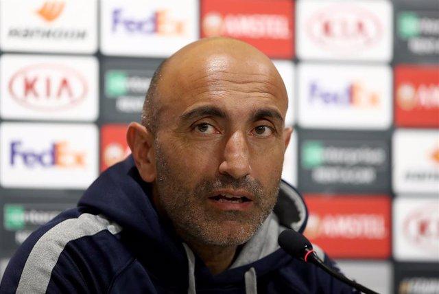 El entrenador del Espanyol Abelardo Fernández