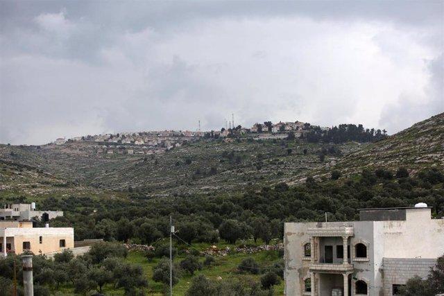 El asentamiento israelí de Elon Moreh, en Cisjordania