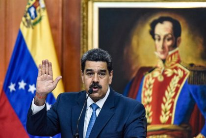 """Venezuela.- Maduro acusa a la """"sanguijuela"""" de Guaidó de promover el terrorismo en Venezuela con dinero de EEUU"""