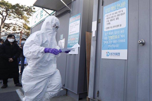 Coronavirus.- Los casos de coronavirus en Corea del Sur superan los 2.000