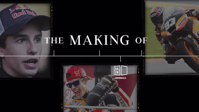 'The Making Of: Marc Márquez', Nueva Serie Documental De DAZN Originals.