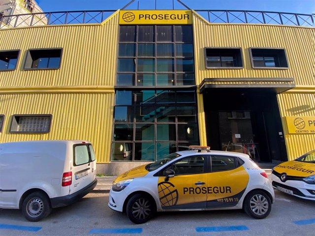 Fachada exterior de una de las sedes de la empresa de seguridad Prosegur
