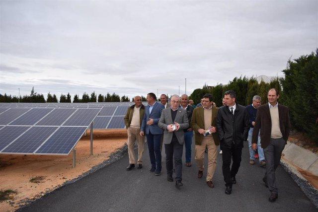 Planta fotovoltaica de la Comunidad de Regantes de Palos de la Frontera.