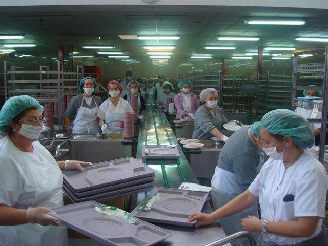 Cocina del Hospital Virgen del Rocío