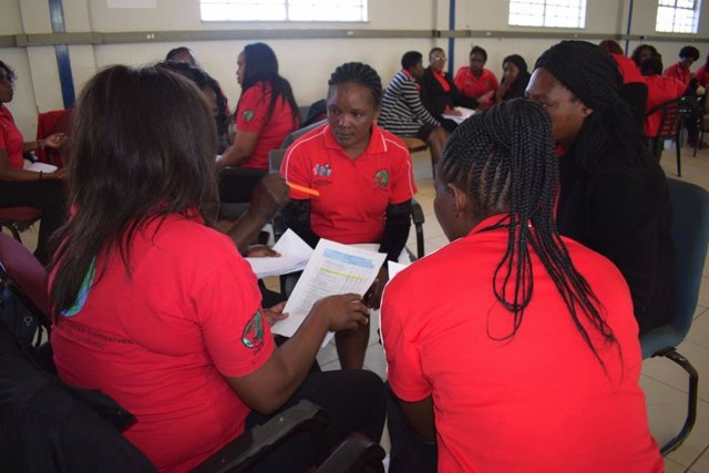 Programa contra el VIH en Namibia de la Fundación Humana.