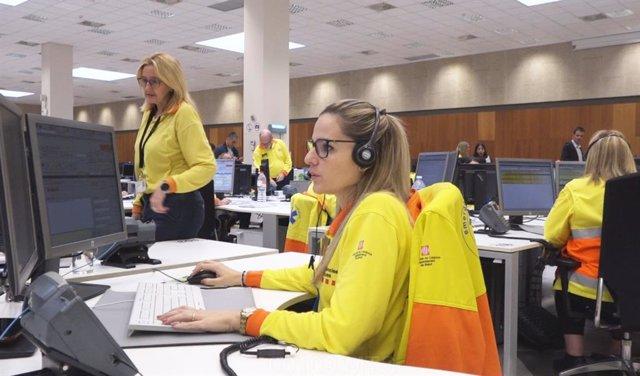 El departament de Salut ha reforçat el servei del 061 Salut Respon