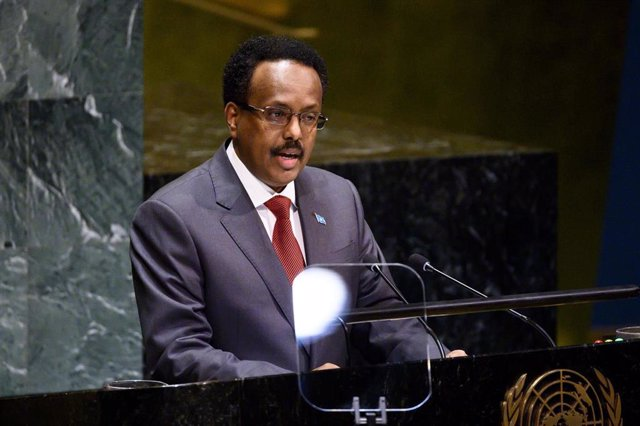 El presidente de Somalia, Mohamed Abdullahi Mohamed, conocido como 'Farmajo'