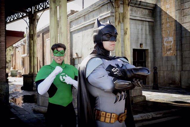 Parque Warner Madrid inaugura nueva temporada entre héroes y villanos