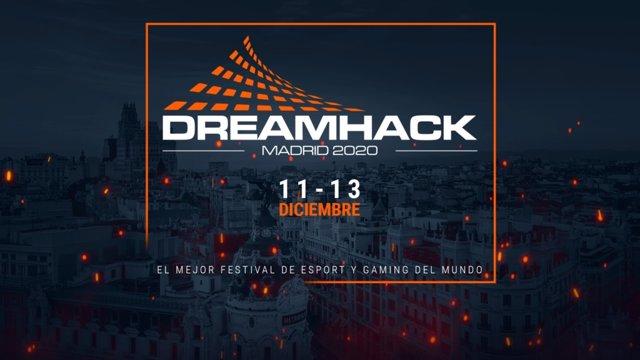 Cartel del festival Dreamhack Madrid