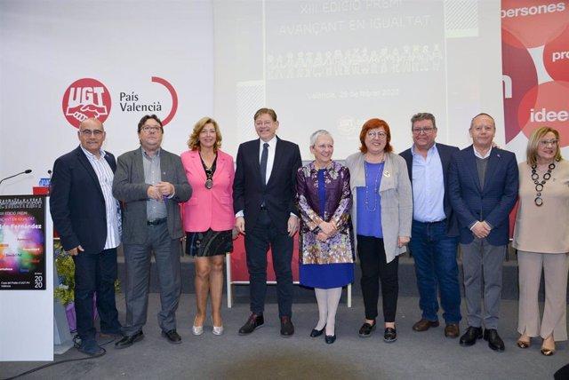 Entrega del XIII Premi Avançant en Igualtat a Matilde Fernández