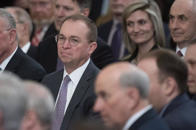 El jefe de gabinete en funciones de la Casa Blanca, Mick Mulvaney