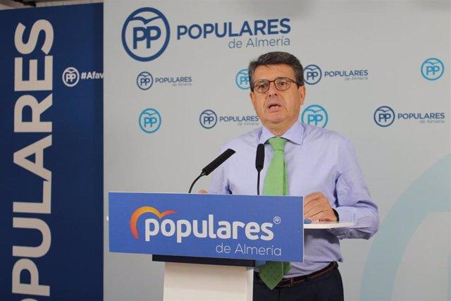 El diputado del PP por Almería Juan José Mataría