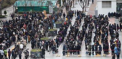 Coronavirus.- Aumentan a 16 los muertos por coronavirus en Corea del Sur y se superan los 2.900 afectados