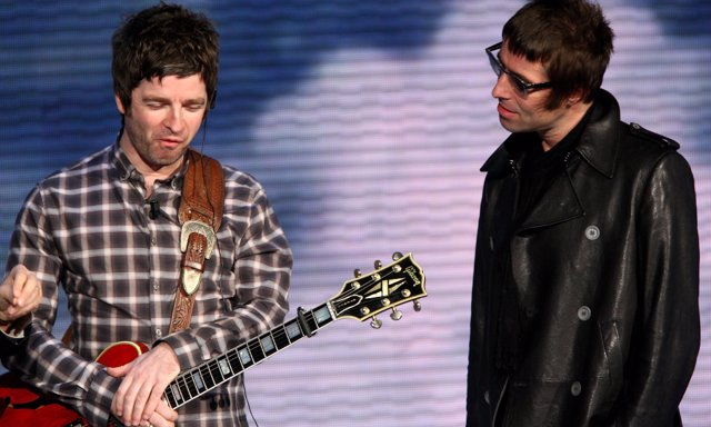 Liam y Noel Gallagher en Milán