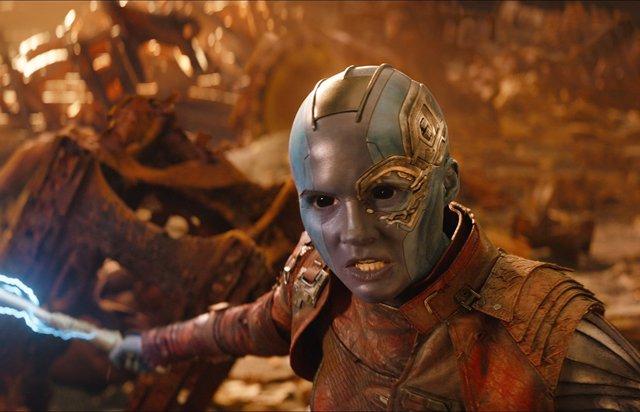 Nébula en Vengadores: Infinity War