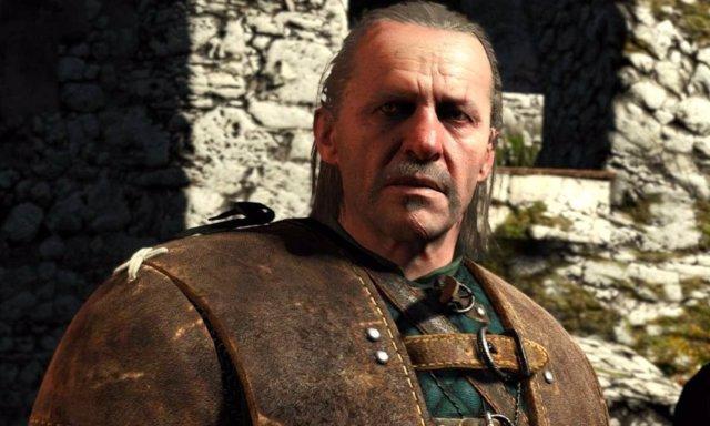 Vesemir en los videojuegos de The Witcher