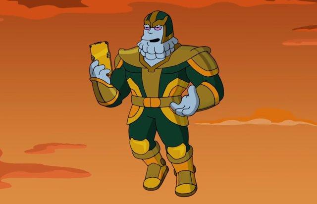 Chinnos, el villano del homenaje de los Simpson a Los Vengadores