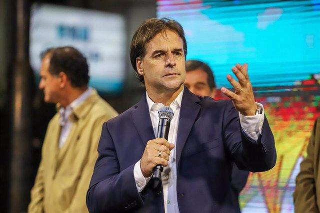 El presidente electo de Uruguay, Luis Lacalle Pou