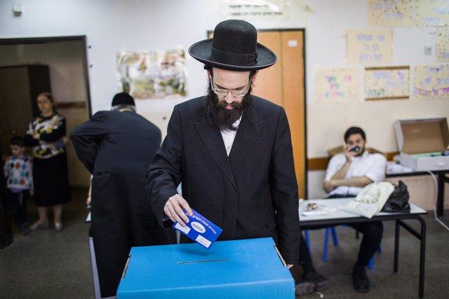 Israel.- Israel celebra sus terceras legislativas en menos de un año y ante otro
