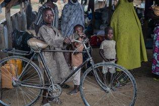 Desplazados por la violencia en Nigeria