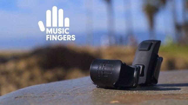 Music Fingers, el dispositivo que convertirá tus dedos en cualquier instrumento