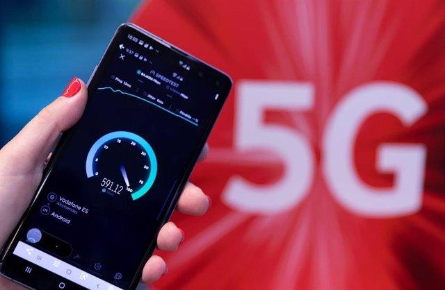 Lanzamiento de la red 5G de Vodafone